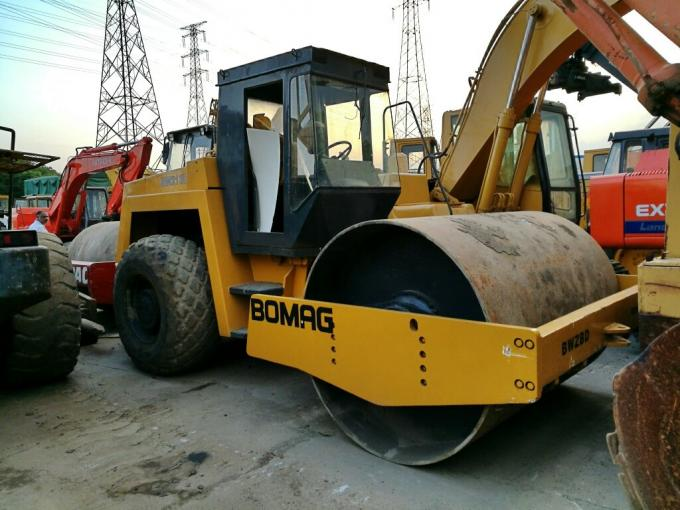 bw213d used road roller bomag Brunei Maldives Indonesia Israel BW202 second hand Single-drum Rollers Bomag Road Rollers