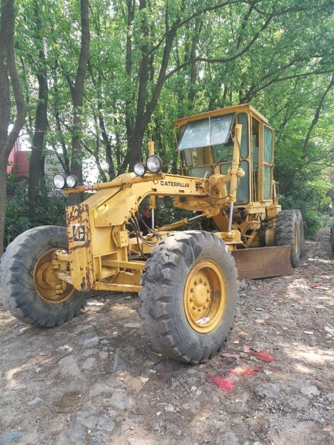 Used motor grader  caterpillar 140g 14g 12g second hand graders for sale form usa japan