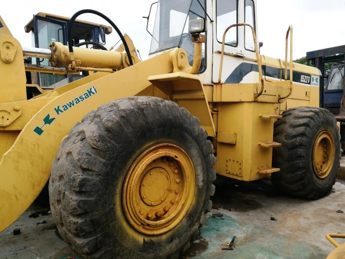 Used 2008  kawasaki wheel loader KLD85Z-III front end loader for sale from japan
