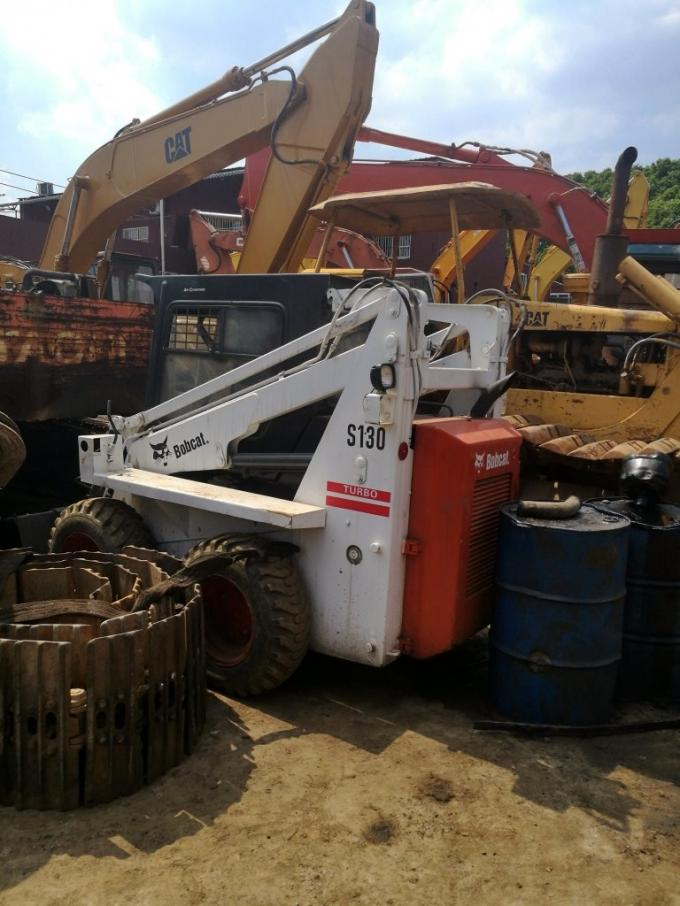 used Backhoe loader bobcat for sale 2012 s130 s160 made in original UK located in china