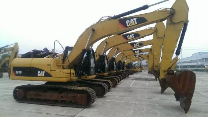 2012 320D used caterpillar hydraulic excavator 1.4m3 second hand digger Bolivia Brazil Bonaire Saint Lucia