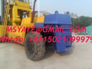 China 40T komatsu container forklift Handler - heavy machinery with fork supplier