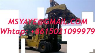 China FD400 40T komatsu container forklift Handler - heavy machinery with fork supplier