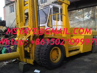 China 37T TOYOTA container forklift Handler - heavy machinery with fork supplier