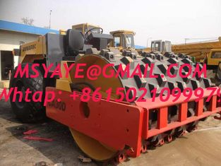 China CA30PD Dynapac used road roller for sale  padfoot roller Seychelles Cote d'lvoir Egypt supplier