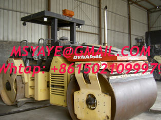 China CC622 used dynapac compactor Twin vibratory roller supplier