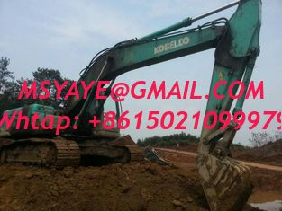 China sk210-8 used kobelco japan excavator  Chile Colombia French Guyana supplier