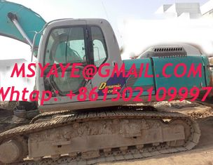 China SK230-6e used kobelco excavator for sale Digging machin supplier