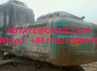 China SK250-8 used kobelco excavator for sale Digging machin supplier