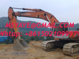 China EX400 used excavator hitachi hydraulic excavator with hammer 2005 supplier