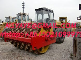 China supplier CA25PD Dynapac padfoot sheepfoot road roller supplier