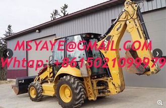 China Used caterpillar 420E front end loader heavy machinery backhoe supplier