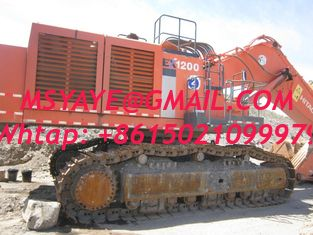 China ZX1200 HITACHI used excavator for sale excavators digger ex1200 supplier