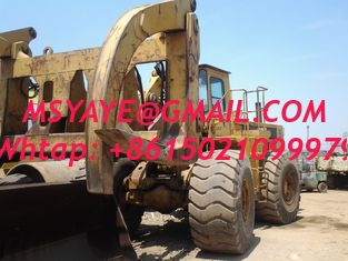 China 980C Used Caterpillar Wheel Loader with forklift stone supplier
