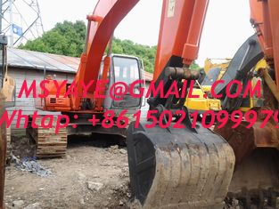 China EX210-5 used excavator hitachi hydraulic excavator with jack hammer supplier