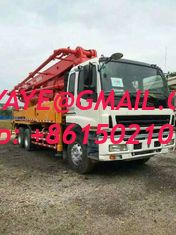 China 37M 42M SANY CONCRETE PUMPS ISUZU truck Truck-Mounted Concrete Pump supplier