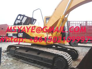 China used caterpillar hydraulic excavator 320bl digger Paraguay Peru Suriname supplier