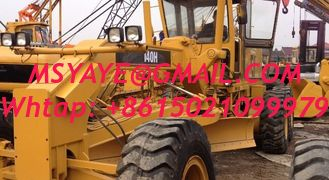 China 2010 5000 140H Used motor grader caterpillar with ripper 2014 recondition grader supplier