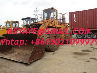 China 1995 cat engine second-hand 980C original paint Used Caterpillar Wheel Loader china supplier