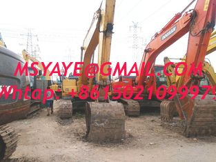 China PC200-8 KOMATSU used excavator for sale excavators digger supplier