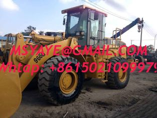 China second-hand 966G 966H Used Caterpillar Wheel Loader china supplier