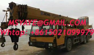 China second-hand CHINA 2012 Truck crane for sale XCMG mobile crane 50T QY50K-5 supplier