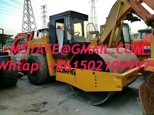 China BW213 BOMAG ROAD ROLLER USED Compactor Vibratory Smooth Drum Roller supplier