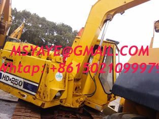 China used   EXCAVATOR kato HD300, HD400, HD500, HD700, HD900 hd250  japan dig second excavator supplier
