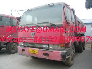 China used isuzu    dump truck for sale 6*4 30T 371HP supplier