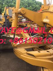 China 2010 140h Used motor grader caterpillar america second hand grader for sale ethiopia Addis Ababa angola supplier