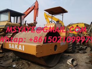 China used compactor  SAKAI used road roller Model SV90 SV91 made in Japan Vibratory Smooth Drum Roller  used in shanghai supplier