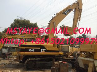 China 320b  used caterpillar excavator for sale USA   312C 312B tractor excavator 320d CAT   excavator for slae supplier