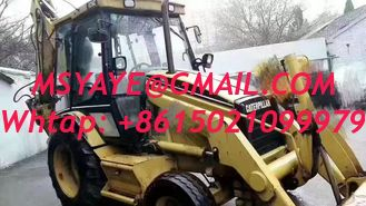 China Used caterpillar 426 front end loader heavy machinery backhoe supplier