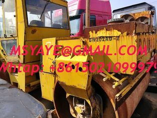China bomag   BW202 compator used road roller germany roller compact four tires roller  deutz engine supplier
