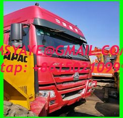 China 2015 made in china tractor head 6*4 10 Tires Sinotruck Howo tipper  dump truck supplier