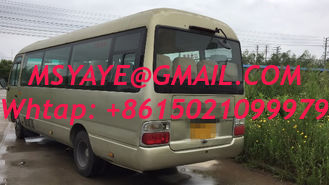 China 2016 2017 japan 29 seatsused Toyota coaster bus left hand drive  diesel  engine 6 cylinder  TOYOTA coaster bus for sale supplier