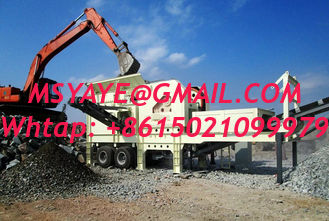 China Mobile Jaw Crusher Plant crushing screening plant mobile jaw crusher impact stone crusher mobile stone crusher supplier