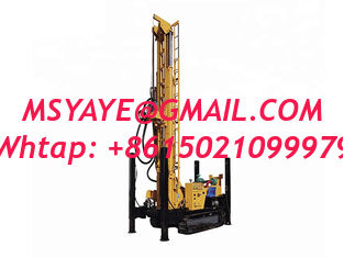 China DTH hydraulic CRAWLER WATER WELL DRILLING RIG machine portable water well drilling rigs deep water well drilling rigs supplier