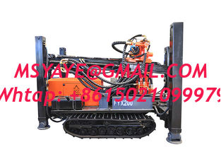 China FY180/FY200 180m 200m STEEL TRACK CRAWLER WATER WELL DRILLING  machine portable water well drilling rigs deep supplier