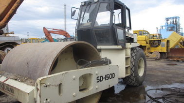 China Ingersoll rand roller roller DD150 compactor  Lesotho Congo S.Africa Liberia factory