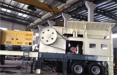 China Mobile Vertical Shaft Impact Crusher screening plant mobile jaw crusher impact stone crusher mobile jaw crusher factory
