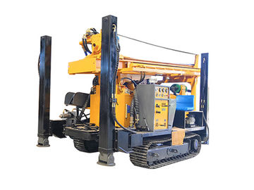China FY200 200m CRAWLER HYDRACULIC WATER WELL DRILLING RIG  machine portable water well drilling rigs deep drill rig truck factory