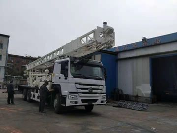 China SRJKC600 600m TRUCK MOUNTED WATER WELL DRILLING RI  water well drill rig shallow water well drilling equipment factory