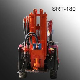 100m 120m 150m wheel tracto WATER WELL DRILLING RIG  shallow  water well drilling equipment water well rig  well digging