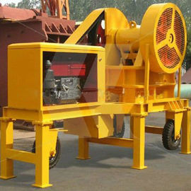 7-10t Mobile Cone Crushing Station mobile crushing plant station construction stone production line  portable rock crush